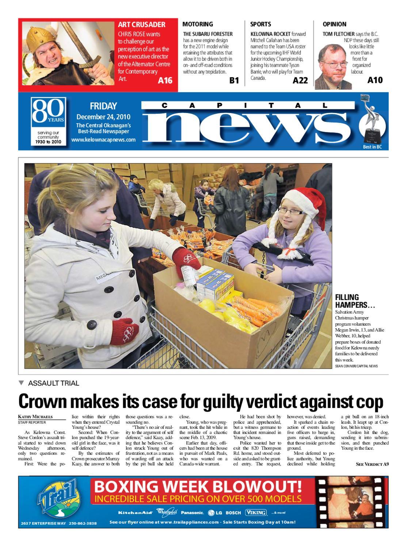 Kelowna Cap News 24 December 2010 by Kelowna CapitalNews - issuu