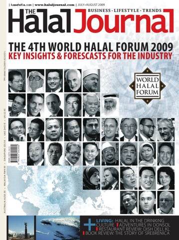 The Halal Journal - Jul/Aug 2009 by The Halal Journal - issuu