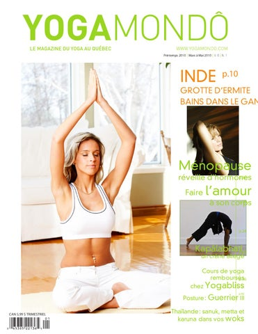 Yoga mondo printemps 2010 by valeriebesson besson - issuu 8a51eb6e8ac