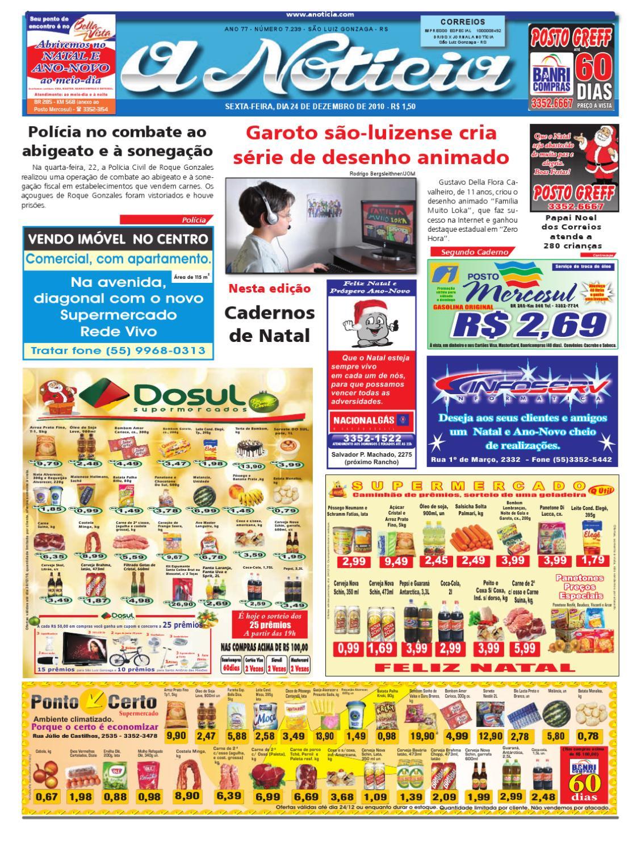 0a6195fdb8fd3 Edição do dia 24 de dezembro de 2010 by Jornal A Notícia - issuu