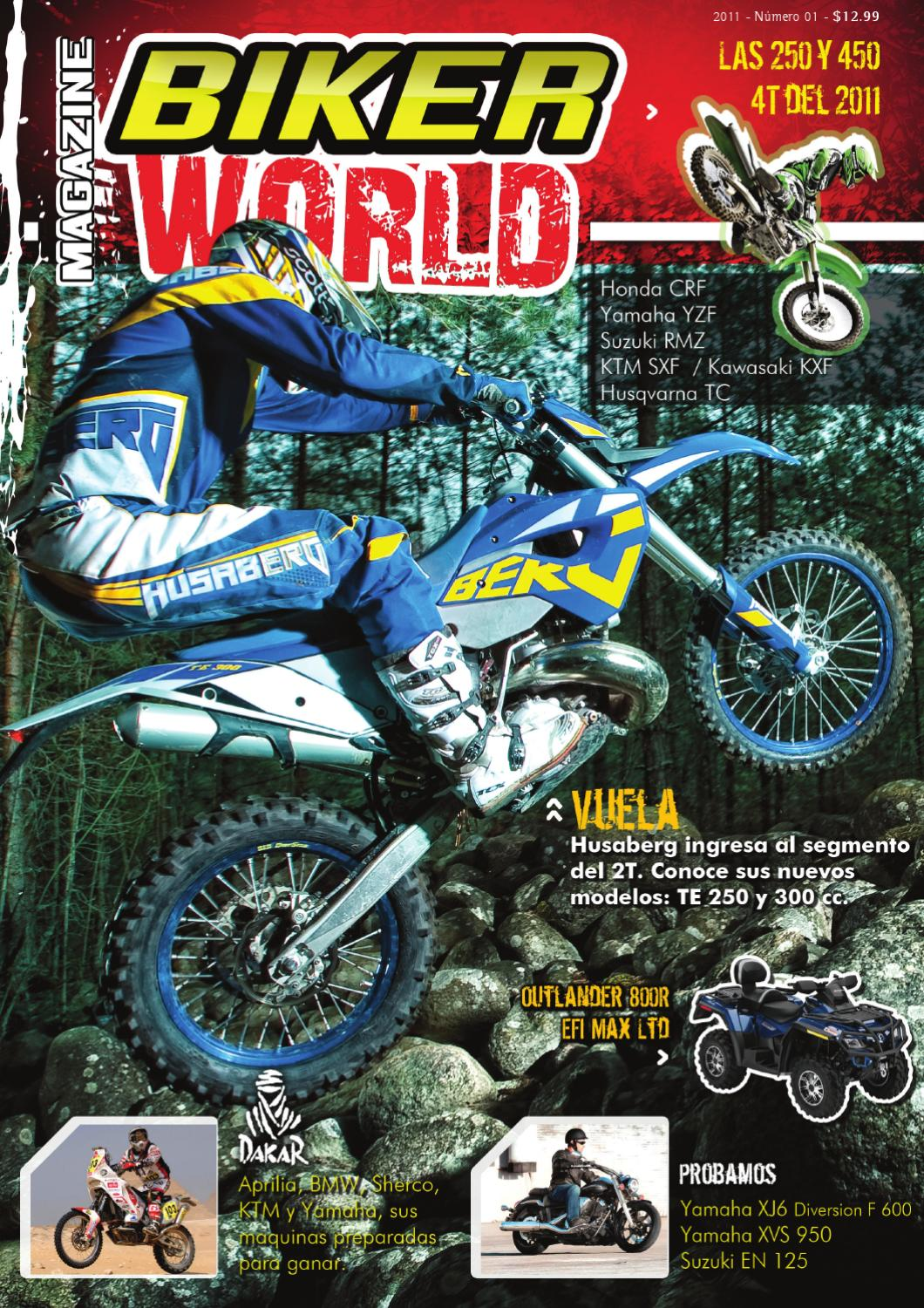 Biker World Mag n° 1 by andrés Comes - issuu
