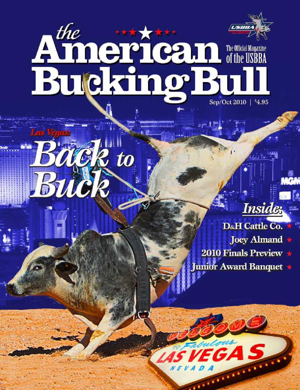 The American Bucking Bull Magazine September October