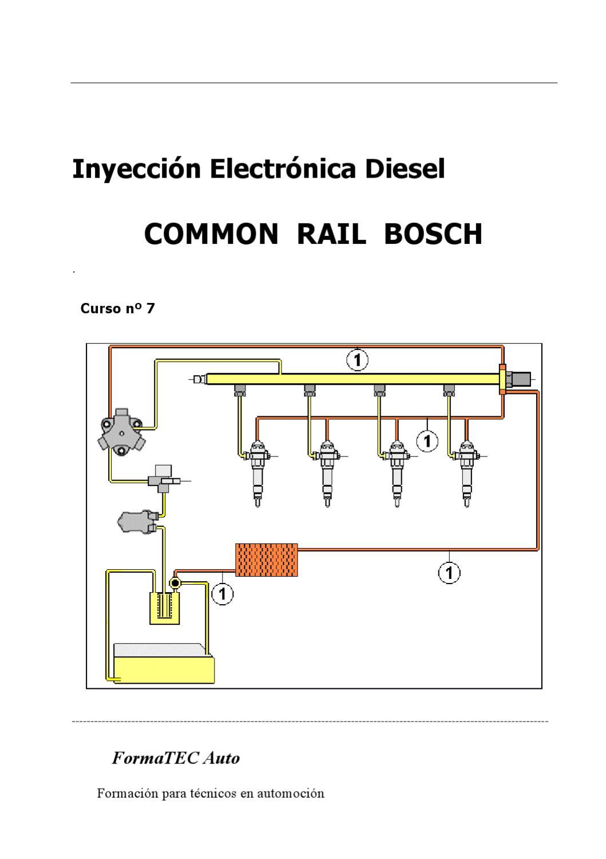 Common Rail Bosch 1 U00ba Generaci U00f3n  Interesante 99 Pag By Joaqu U00edn Berrocal