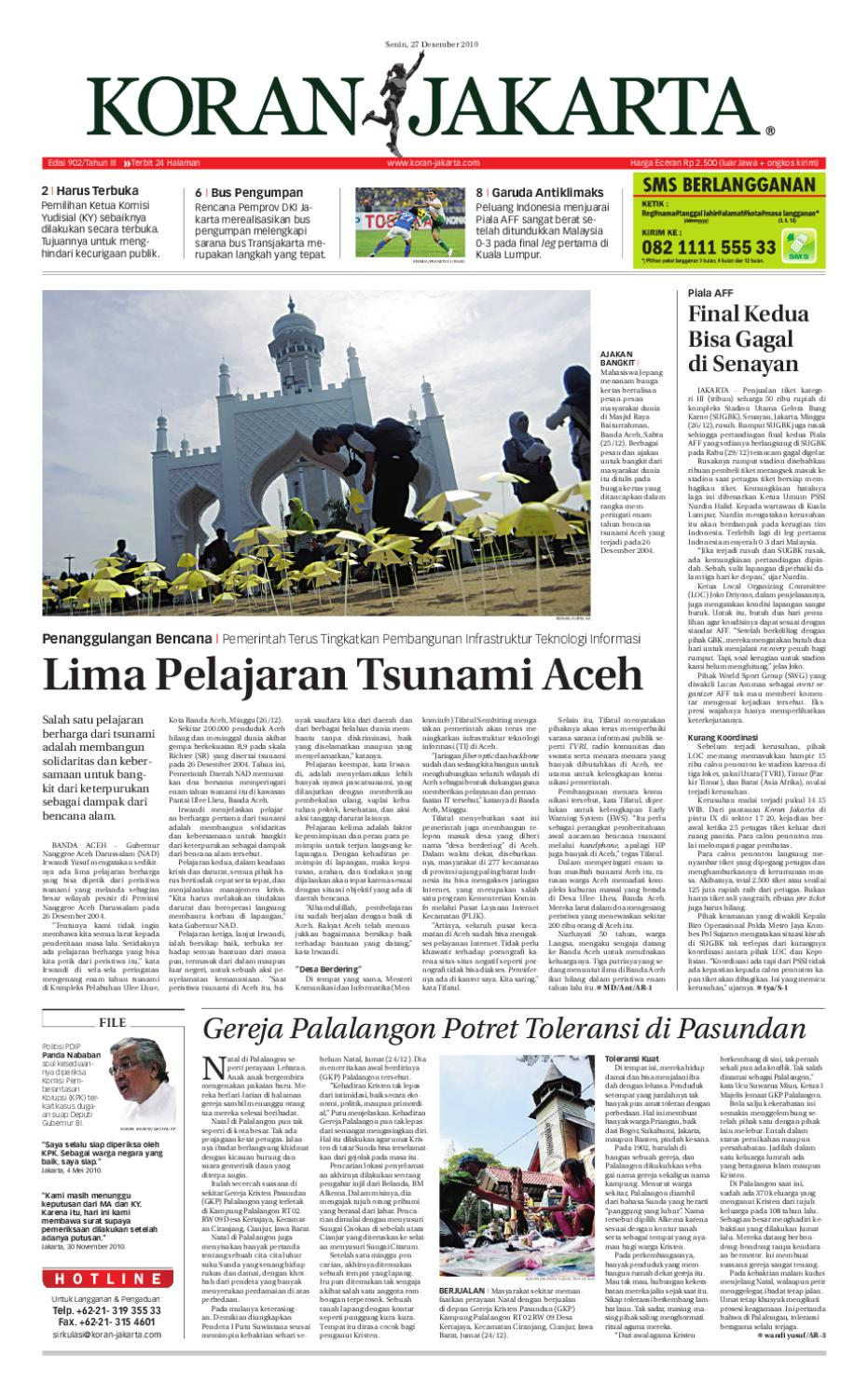 Edisi 1010 18 April 2011 By Pt Berita Nusantara Issuu Krezi Kamis 26 Carteramp039s 3 Pieces Pakaian Bayi Boy Tersedia Banyak Motif 902 27 Desember 2010