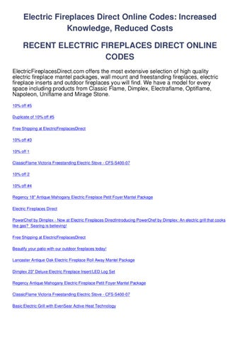 Brilliant Electric Fireplaces Direct Online Codes By Coupon Codes Issuu Best Image Libraries Barepthycampuscom