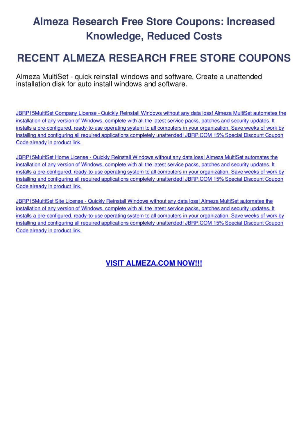 almeza research free store coupons by melis zereng issuu