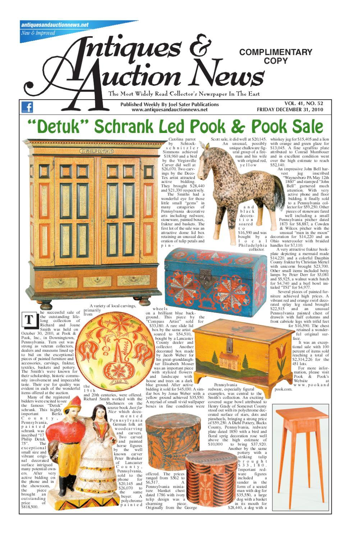antiques auction news 123110 by antiques auction news issuu