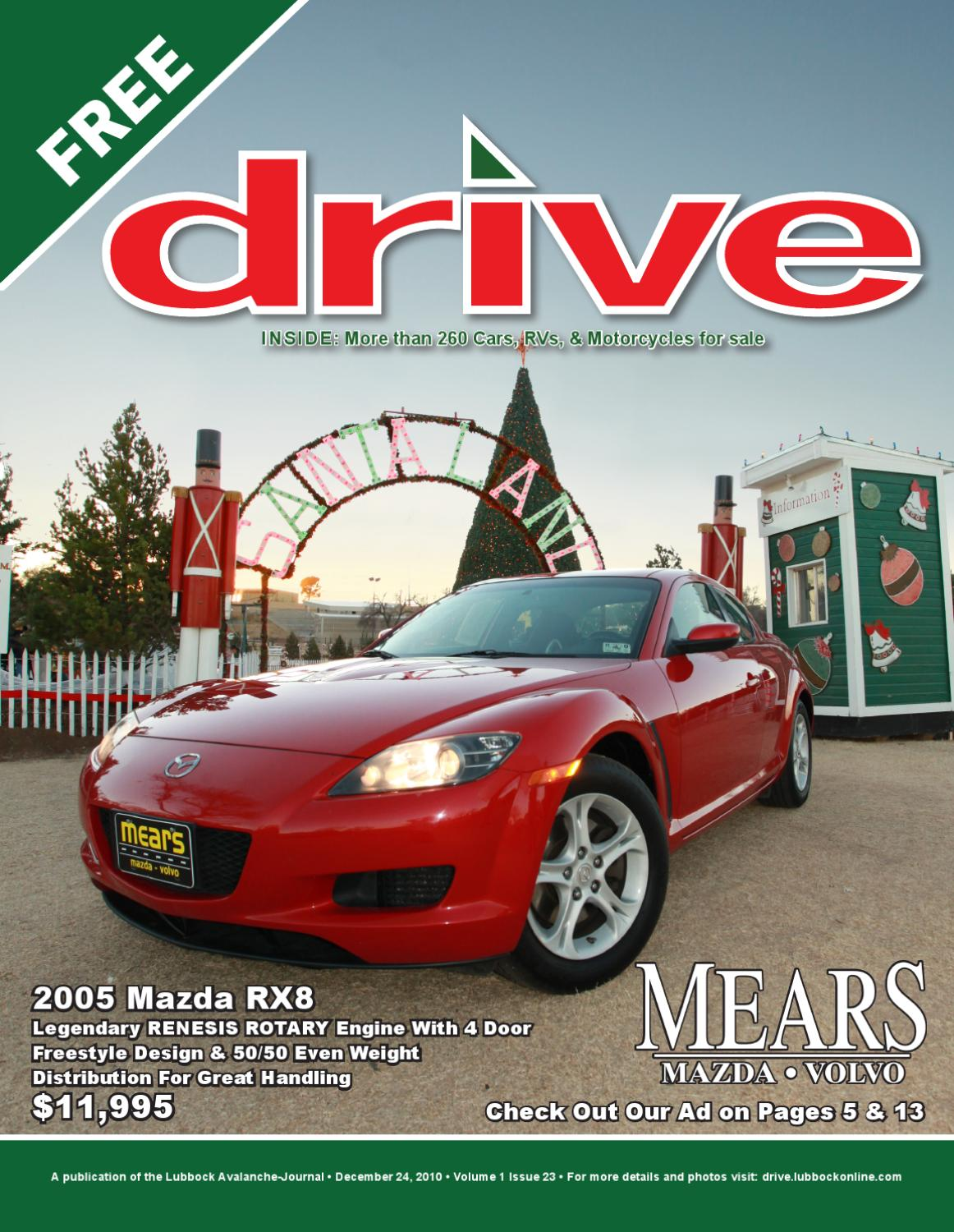 Drive Vol 1 Issue 23 12 2410 By Lubbock Avalanche Journal Issuu Buick Rendezvous Cxl 2002 Electric Seat Issues