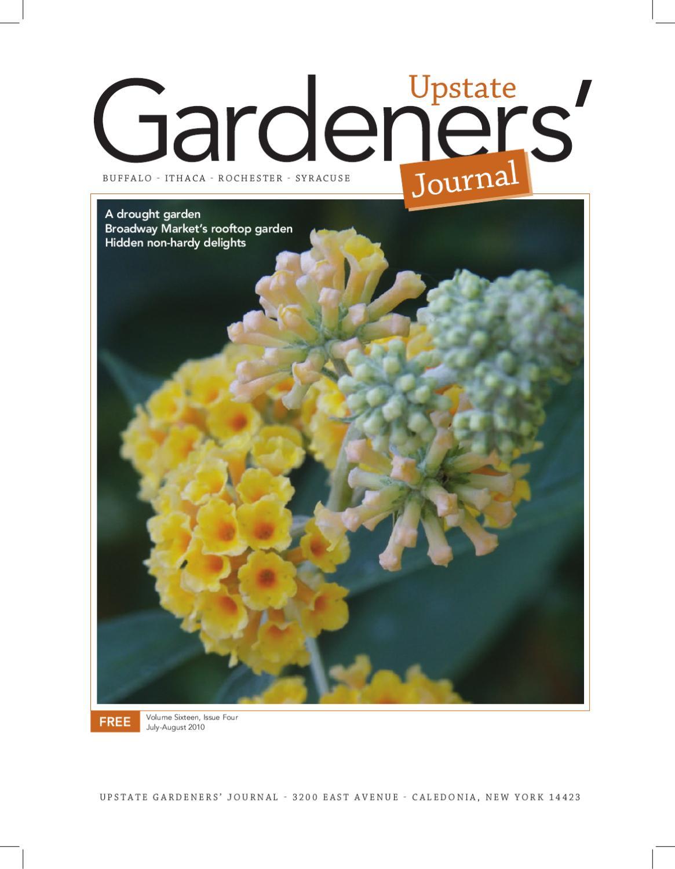 Upstate Gardeners' Journal July-Aug '10 by Upstate Gardeners