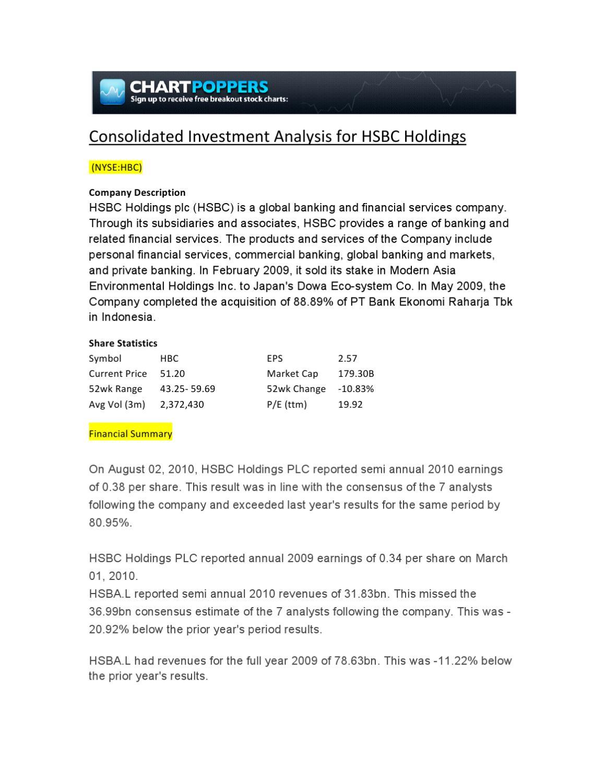 global private banking internship hsbc holdings plc