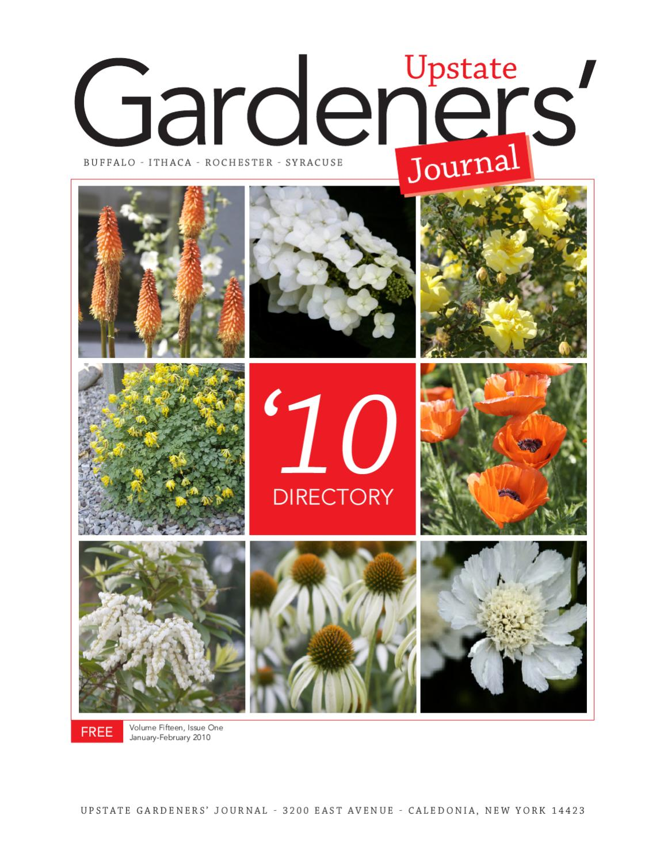 Ugjdirectory2010 By Upstate Gardeners Journal Issuu
