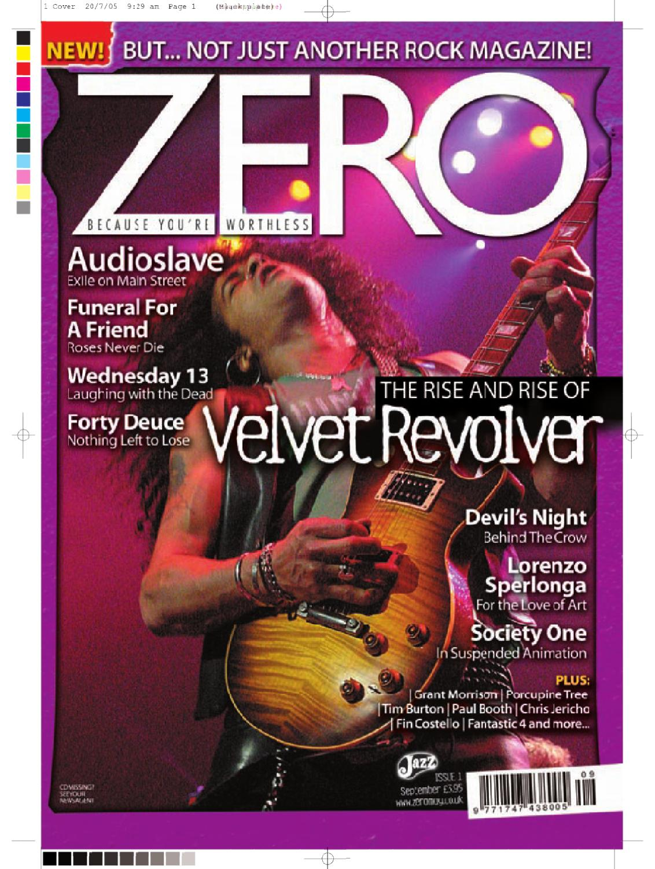 Zero Magazine Issue 1 By Mike Shaw Issuu