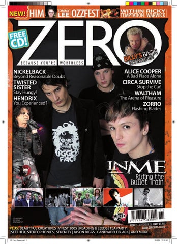 Zero magazine issue 3 by mike shaw issuu page 1 stopboris Choice Image