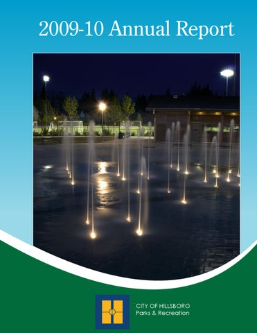 Hillsboro Parks & Recreation Annual Report 2012-13 by Julie