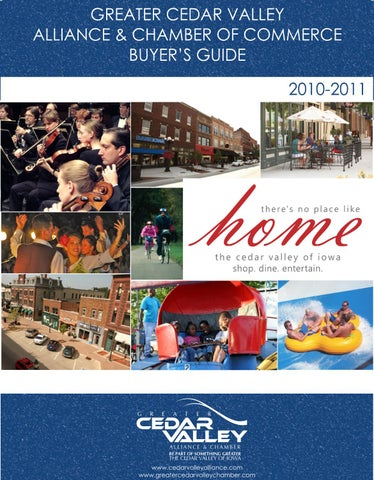 Greater Cedar Valley Alliance Chamber Of Commerce Buyers Guide By