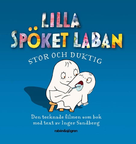 Lilla Spöket Laban. Stor och duktig – Smakprov 46824b6bb9f86