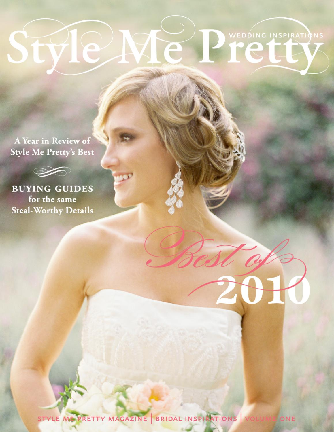 Style Me Pretty S Best Of 2010 By Style Me Pretty Issuu