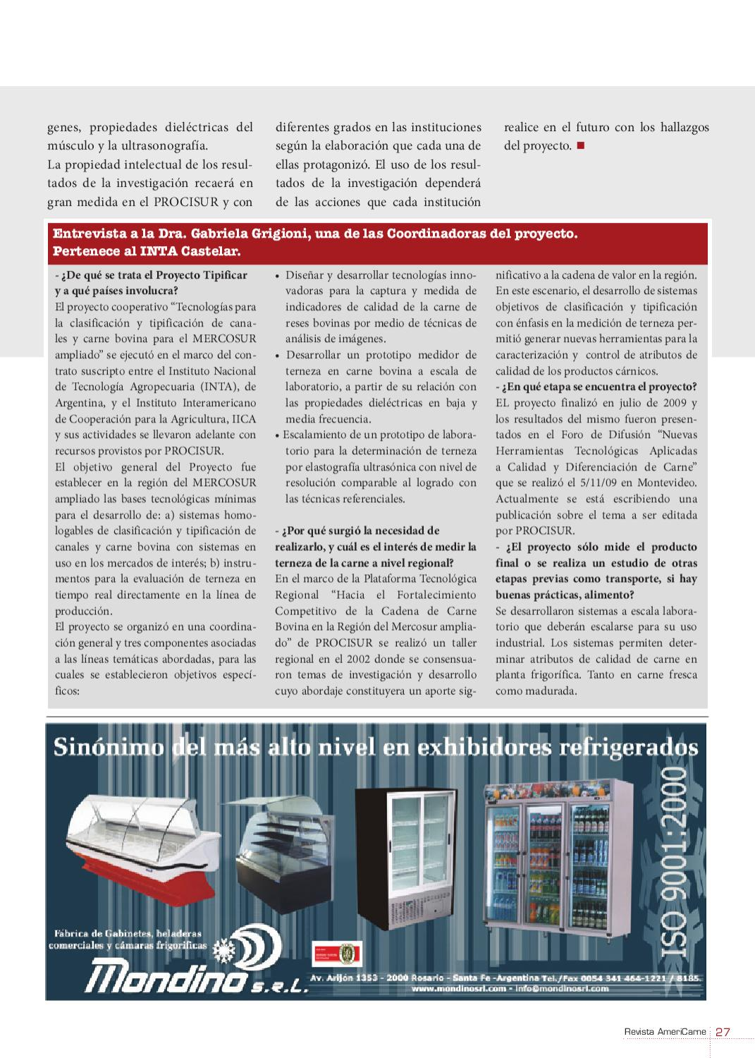 AmeriCarne Nº 80 by Red Alimentaria issuu