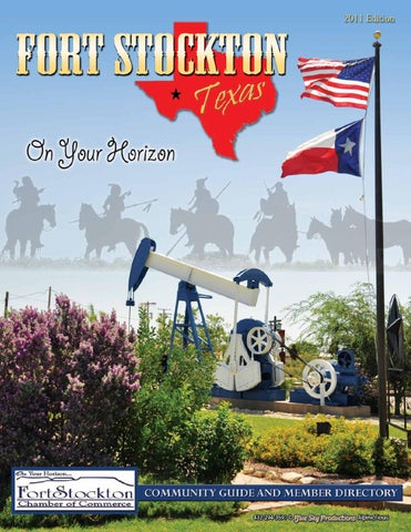 Fort Stockton Tx Chamber Directory 2011 By Blue Sky