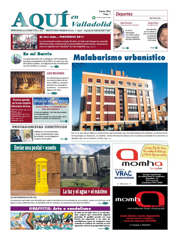 Aqu En Valladolid N 7 Enero 2011 By Eiconet Servicios Y  # Muebles Kostic Palencia