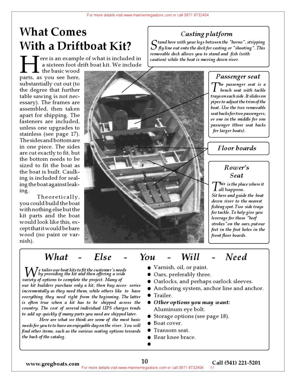 Mckenzie River Drift Boats Tatman Catalogue