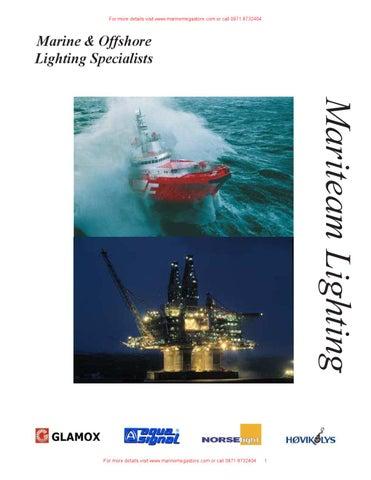 MariTeam Lighting Inc -MariTeam Product Catalog by Marine