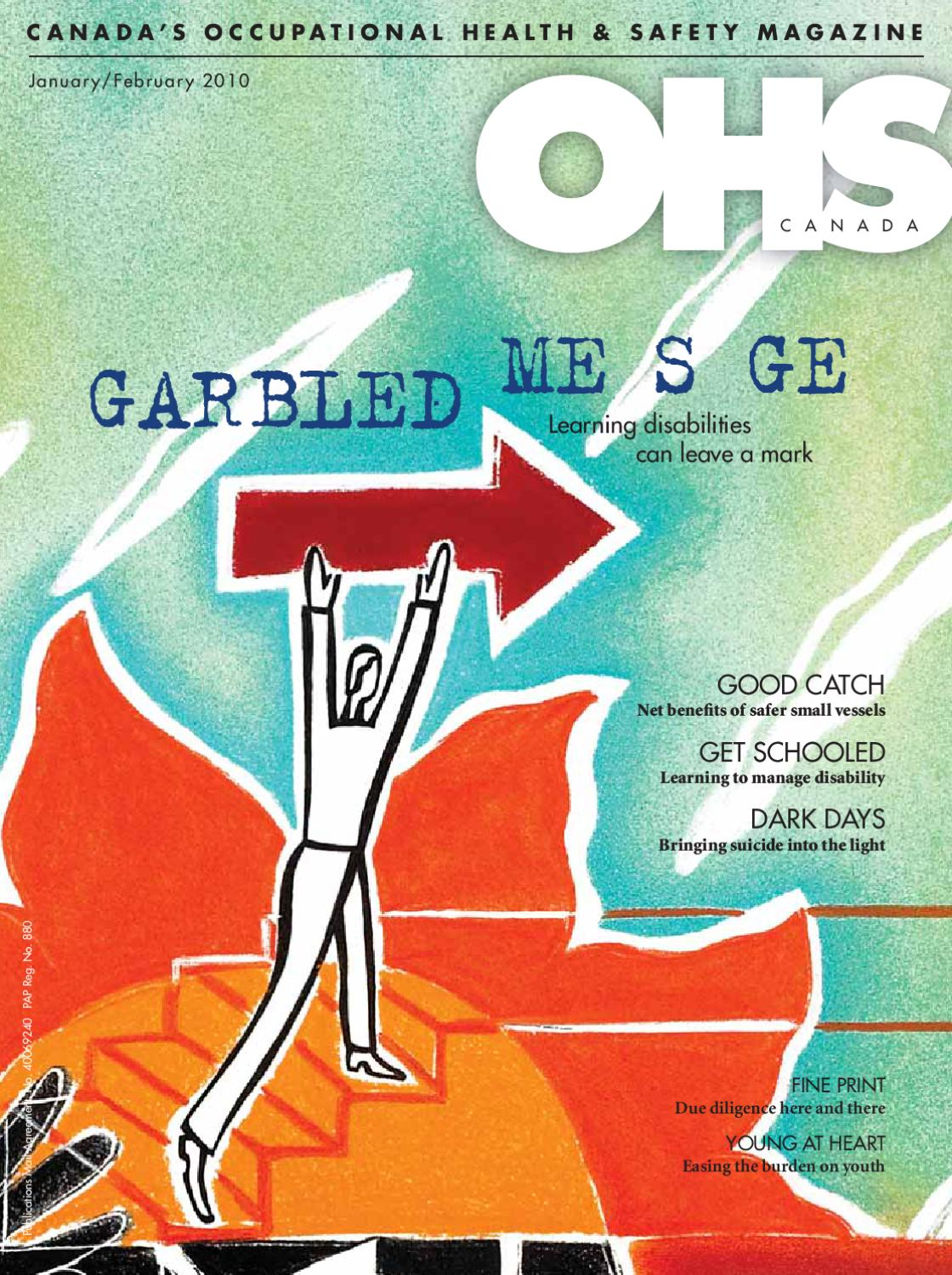 OHS Canada January 2010 by Annex-Newcom LP - issuu
