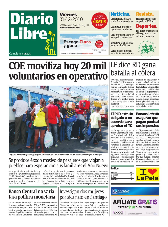 diariolibre2920 by Grupo Diario Libre, S. A. - issuu