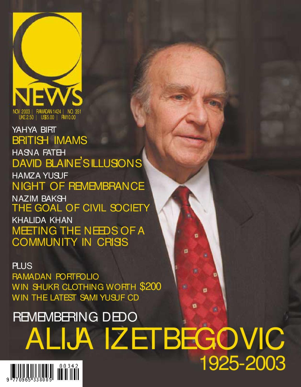 NOV 2003 | RAMADAN 1424 | NO 351 by Q-News - The Muslim Magazine - issuu