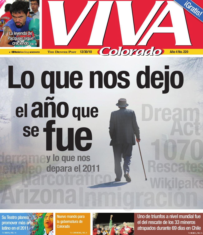 12/30/10 Lo que nos dejo el 2010 by Viva Colorado - issuu