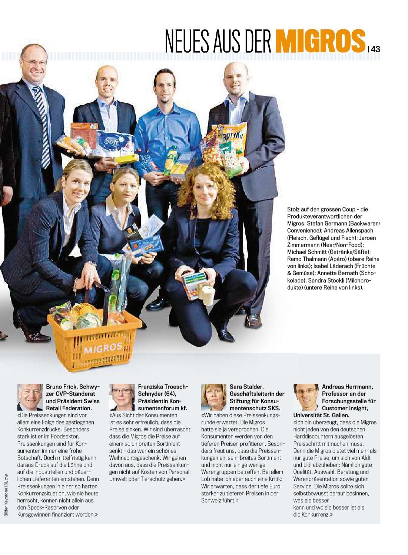 Migros Magazin 01 2011 d OS by Migros-Genossenschafts-Bund - issuu