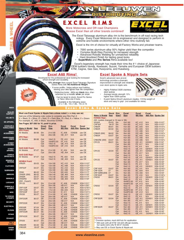 Excel DDK404 Black 16 x 1.85 32 Hole Takasago Rim