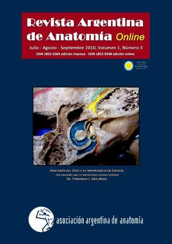 Revista Argentina de Anatomía Online 2010; 1(3): págs. 81-116. by ...