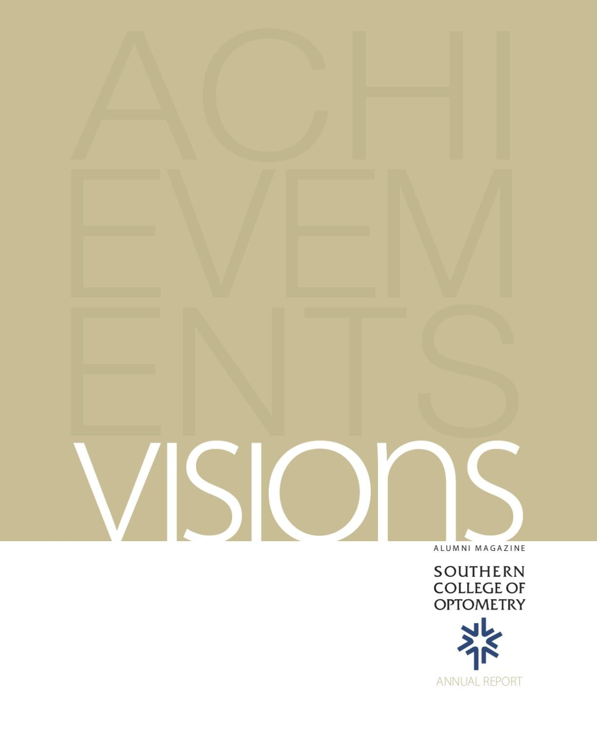 visions_09winter by southern college of optometry - issuu