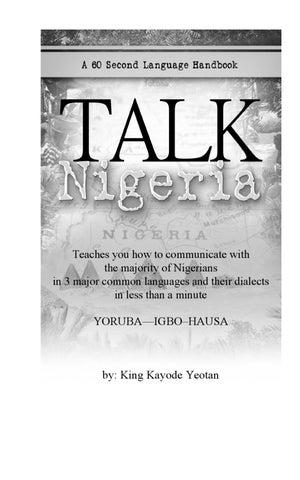 Talk nigeria a 60 second language handbook by fuad lawal issuu page 1 m4hsunfo