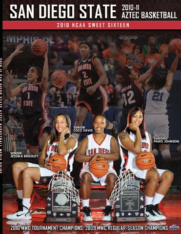 Basketball 2010 Issuu Media Sdsu Women's Peggy Curtin 11 Guide By rdshQCtx