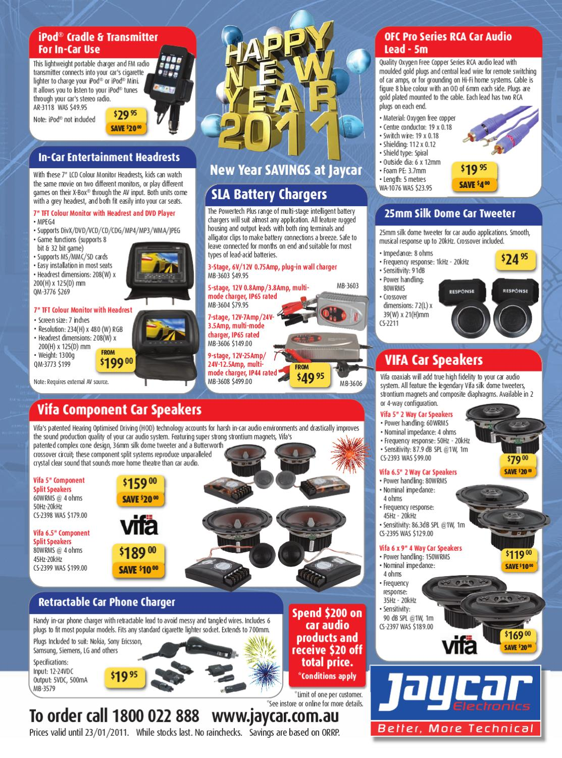 2011 January Silicon Chip Brochure By Leading Edge Electronics Jaycar Fuse Box Devonport Issuu