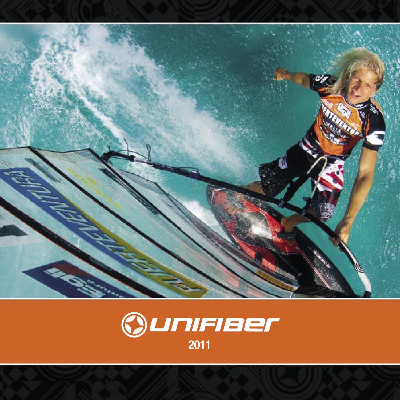 Unifiber Weed Slasher Powerbox Finne Windsurf