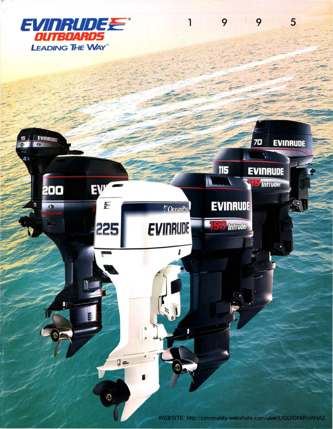 Evinrude 45 Hp Outboard Motor