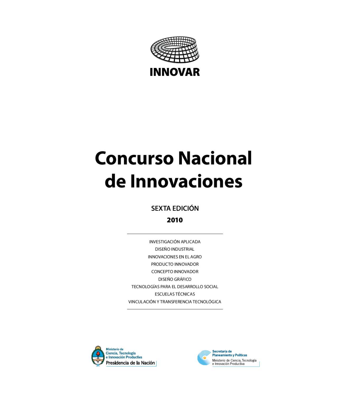 Catálogo INNOVAR 2010 by Concurso INNOVAR - issuu