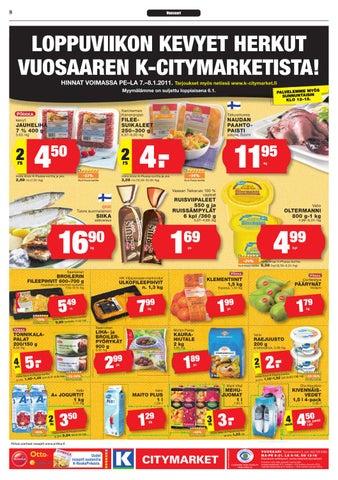 Citymarket tarjouslehti | Fitness ja Terveellinen syöminen