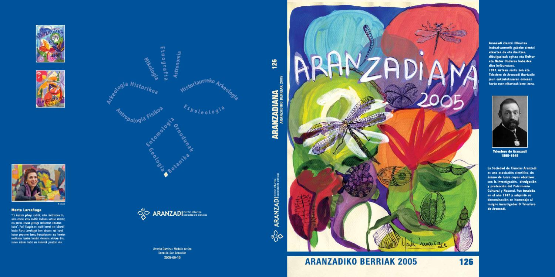 ARANZADIANA 2005 by ARANZADI KOMUNIKAZIOA - issuu