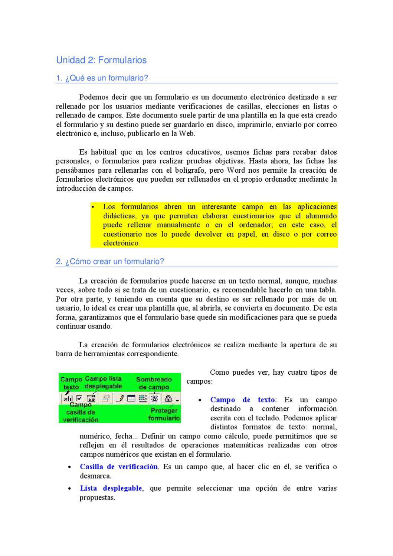Formularios en Word by José Ramón Olalla - issuu