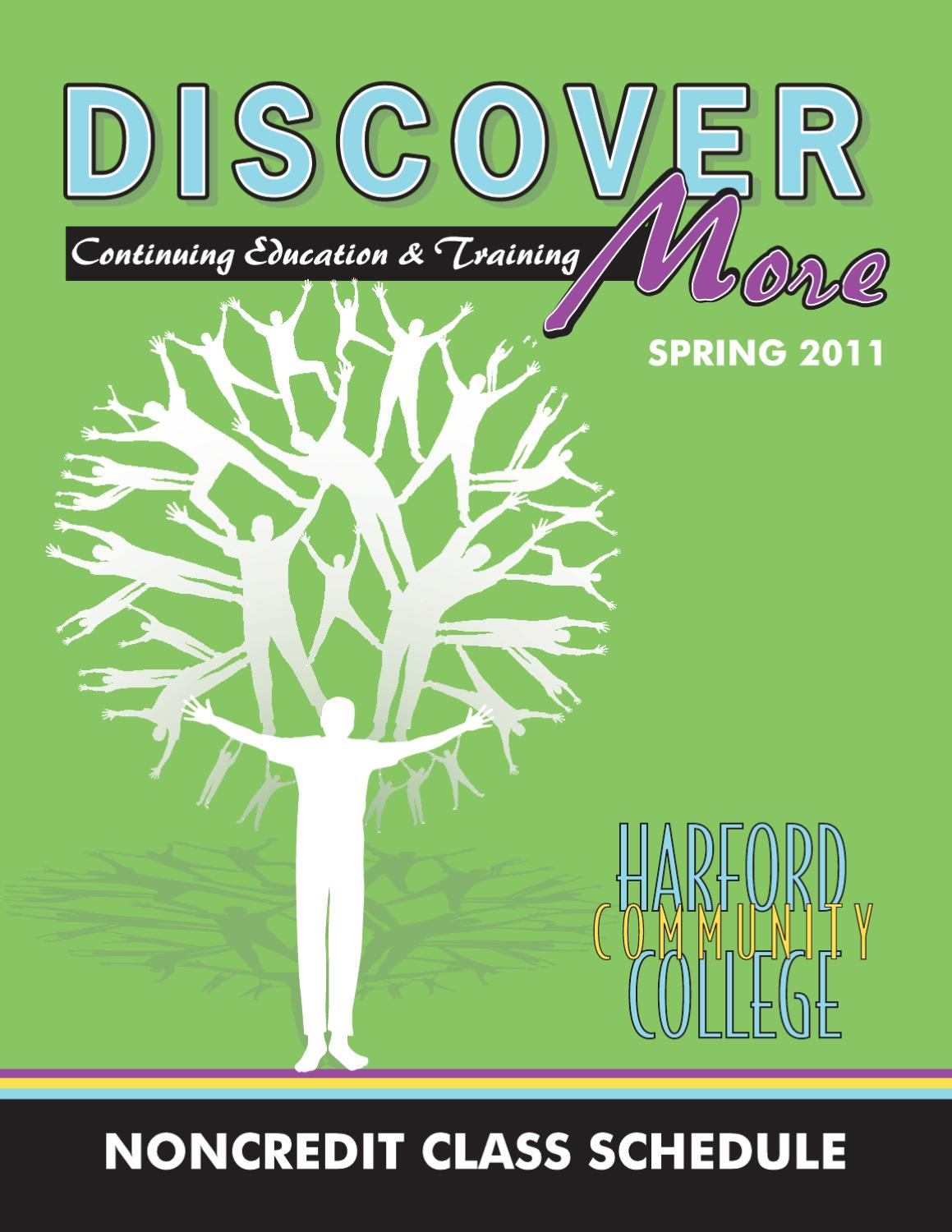 HCC Spring Noncredit Schedule by Harford Community College - issuu