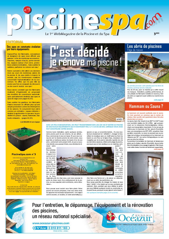 Transformer Son Bassin En Piscine piscinespa n°3piscinespa - issuu