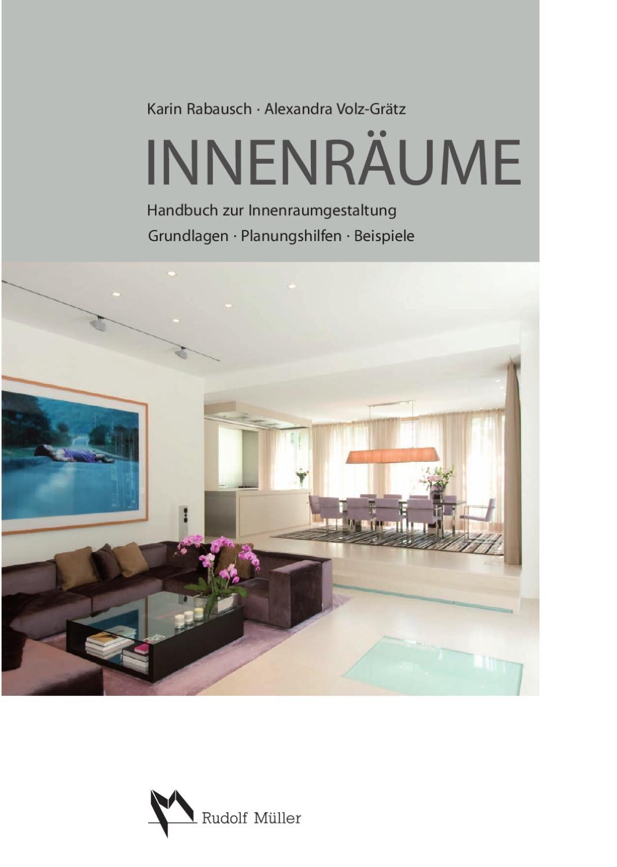 Buch Innenräume by CH Producing   issuu