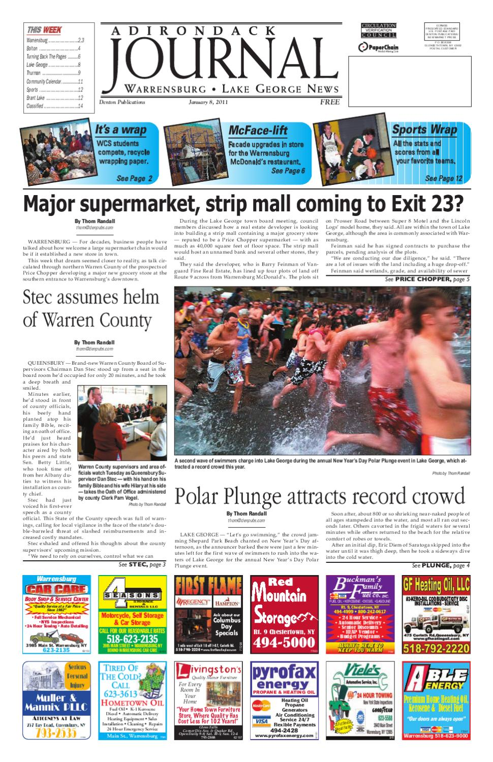 Record Turnout At 2008 Polar Plunge And >> Aj 01 08 2011 Edition By Sun Community News And Printing Issuu