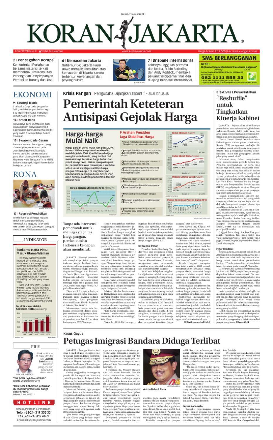 EDISI 912 7 JANUARI 2011 By PT Berita Nusantara Issuu