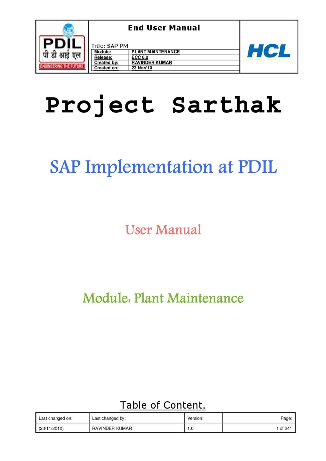 SAP Ariba Tutorial in PDF