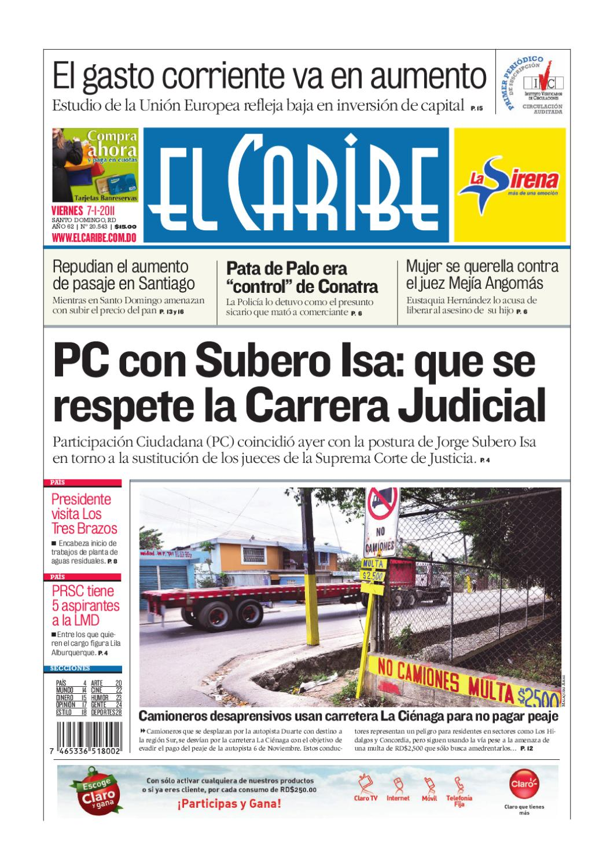 El Caribe | Edición Impresa by Multimedios del Caribe - issuu